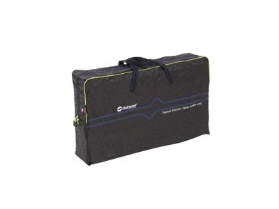 Outwell Padres - Sammenleggbart kjøkkenbord med sidebord - Aluminium / bambus