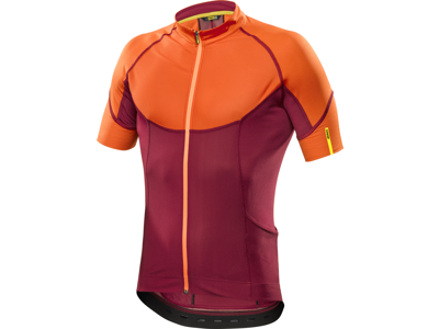 Mavic Ksyrium Pro - Cykeltrøje - Rød/orange
