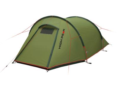 High Peak Kite 3 - 3 personers telt - Pesto-red