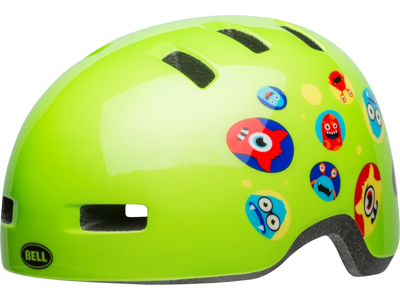 Bell Lil Ripper - Sykkelhjelm - Monster gloss green