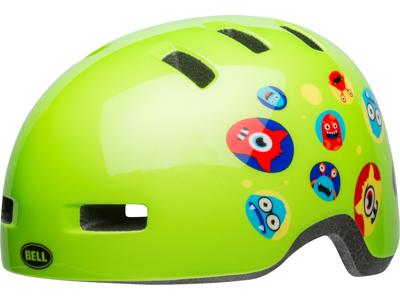 Bell Lil Ripper - Cykelhjelm - Monster gloss grøn