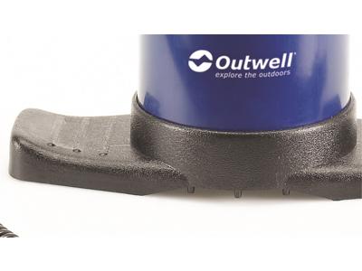 Outwell - 2-vejs pumpe - Inkl. 3 størrelser mundstykker