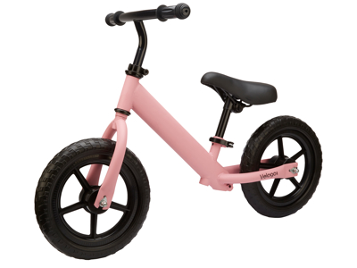 Velogo - Løbecykel - Mat Pink