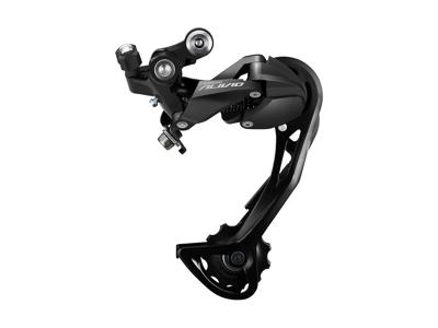 Shimano Alivio - Bagskifter RD-M3100-SGS - Til 3 x 9 gear - Sort
