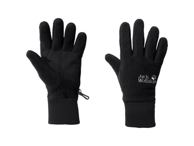 Jack Wolfskin Vertigo - Overgangs handske - Sort