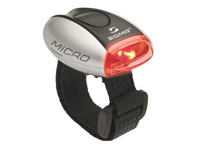 Baglygte Sigma MicroLight II Sølv