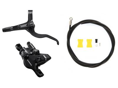Shimano MT410 - Bremsesæt hydraulisk med 2 stempler - For/venstre - Trekking