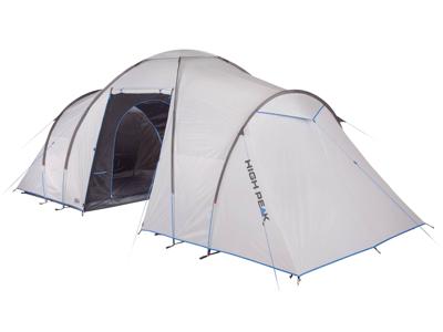 High Peak Como 6.0 - 6 personers telt - Nimbus grey