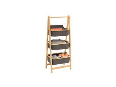 Outwell Padres Storage Rack L - Foldbar Reol - Grå/Brun