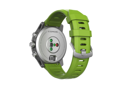 Coros - Apex Pro Sportsur med GPS - 46mm - Sølv/Grøn