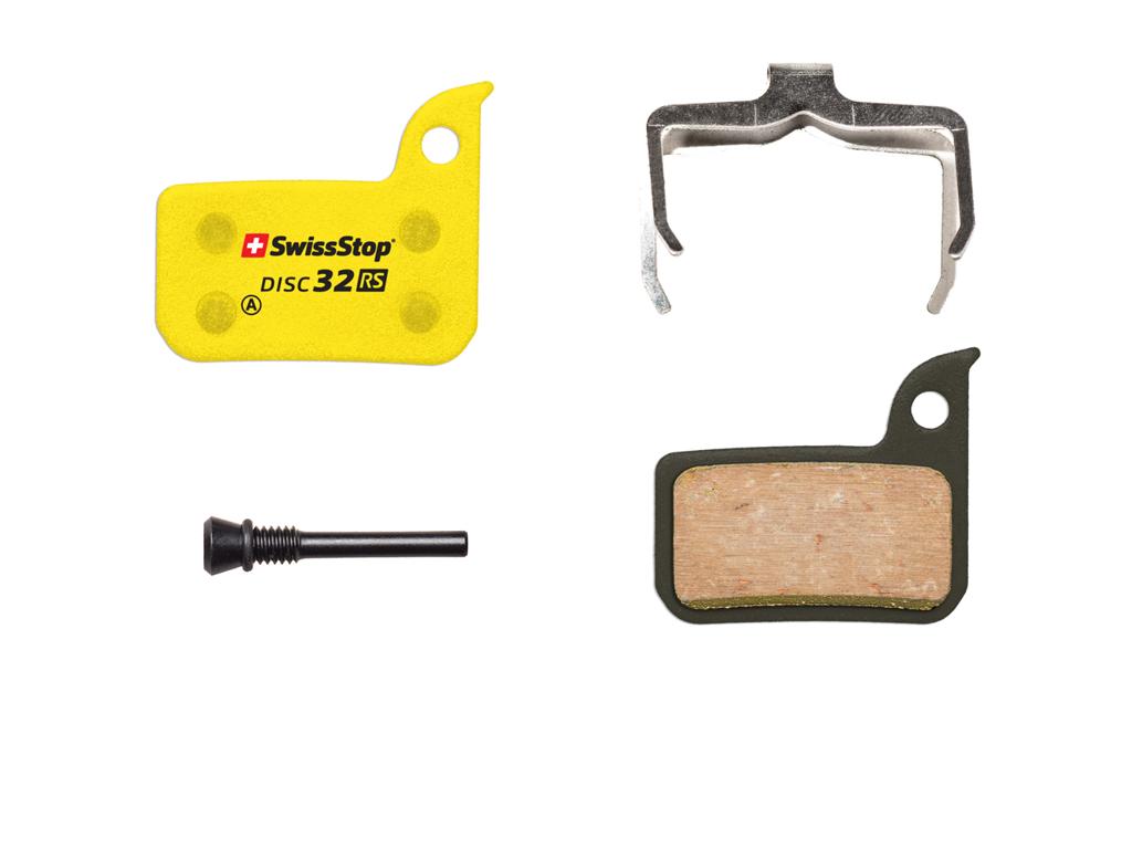 Swissstop Disc 32RS - Bremseklodser RS til Sram HRD/Ultimate og TLM thumbnail