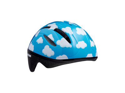 Lazer Bob - Cykelhjelm Barn - Str. 46-52 cm - Blå med skyer