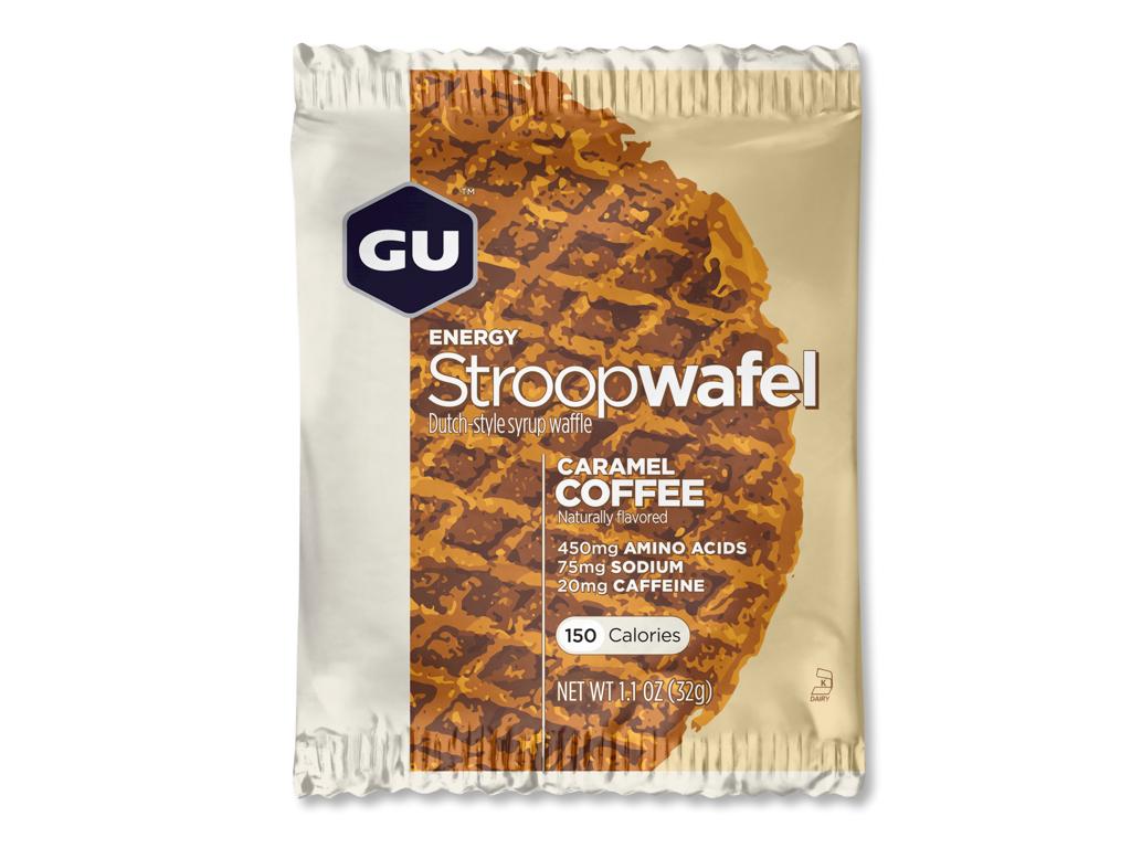 GU Energy Stroopwafel - Caramel Coffee - 20 mg koffein - 32 gram