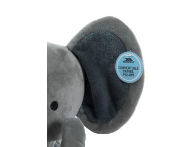 Trespass Zalika - Nakkepude og Elefant tøjdyr - Grå