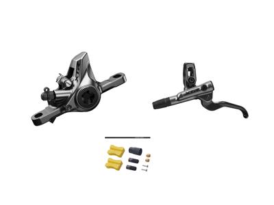 Shimano XTR M9100 - Hydraulisk bremsesæt - For/venstre - Resinl klodser