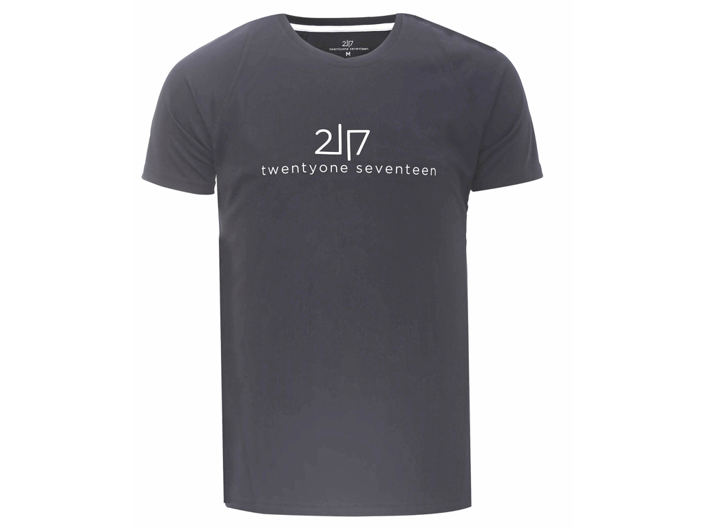 2117 OF SWEDEN Tun - Løbe T-Shirt - Mørk grå - Str. XL thumbnail