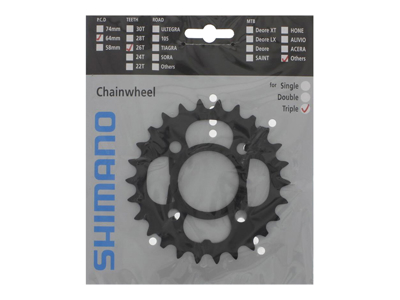 Chainring 26T & Chain Protect