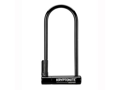 Kryptonite Keeper - Bøjlelås U-Lock 12 LS - 10,2 x 25,4cm - Sort