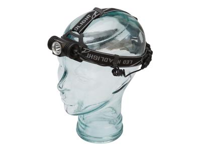 OnGear - Pandelampe - 350 lumen - Opladelig - Aluminium - Sort