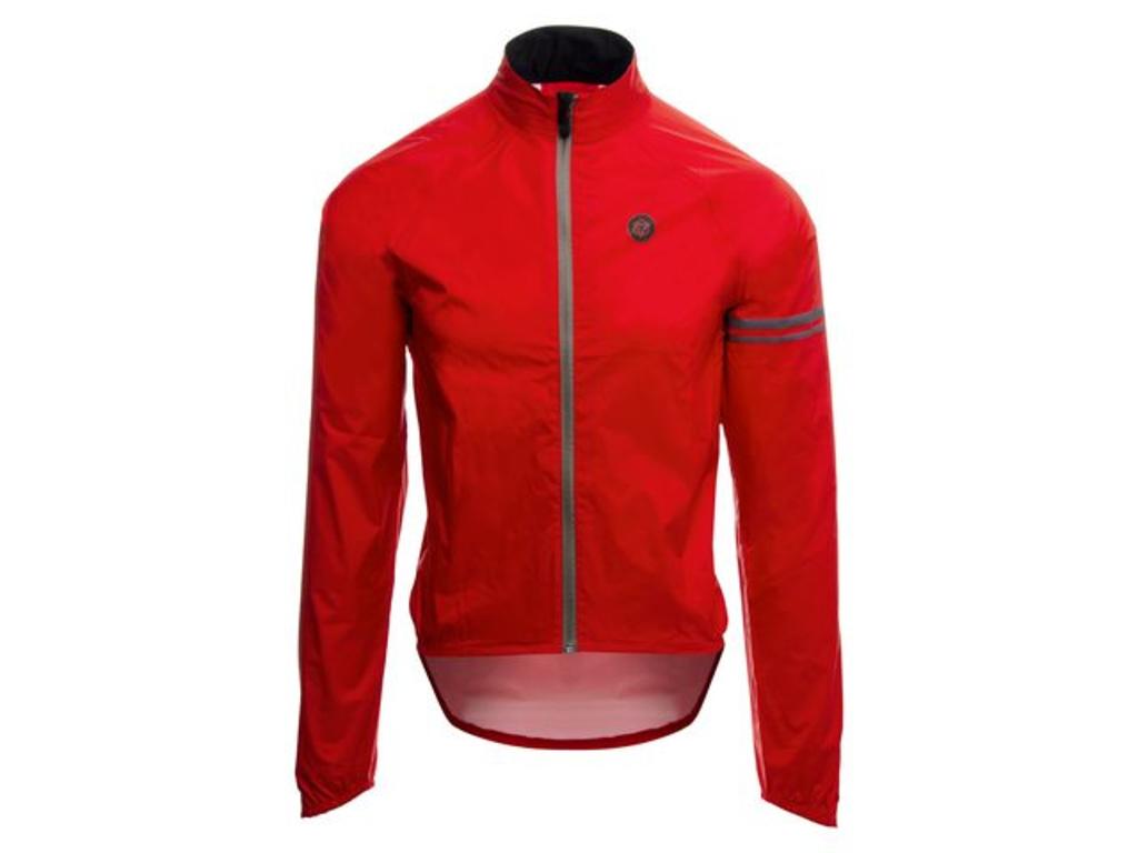 Image of   AGU Jacket Essential Rain - Cykelregnjakke - Rød - Str. L