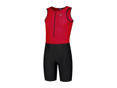 Rogelli Florida - Triathlon dragt - Sort/Rød