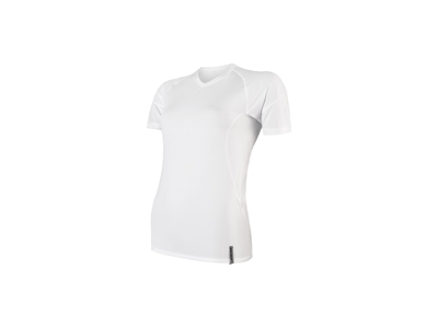 Sensor Coolmax Tech - T-Shirt K/Æ - Dame - Hvid