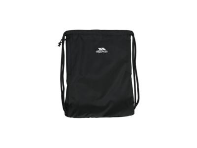 Trespass Stape - Taske med snøreluk - Sidelomme med lynlås - Sort