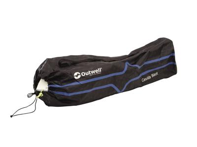 Outwell Casilda - Campingstol - Foldbar - Sort