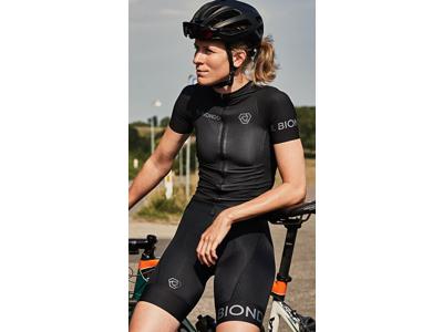 Il Biondo Road Warrier - Cykelbukser - BIB 8 timers pude - Dame - Sort