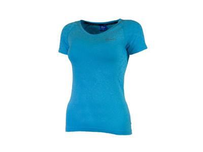Rogelli Seamless - Sports t-shirt - Dame - Blå