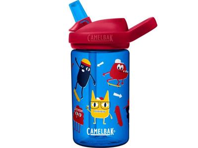 CamelBak Eddy+ Kids - Drikkeflaske - 0,4 liter - Skate Monsters