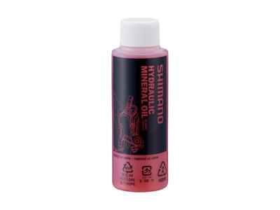 Olie mineralsk 100 ml rød til Shimano