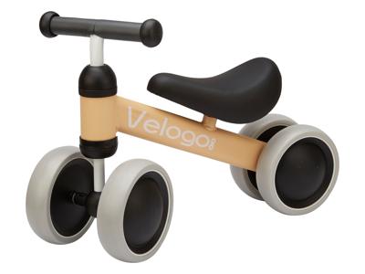 Velogo - Løbecykel - 4 hjul - Sand