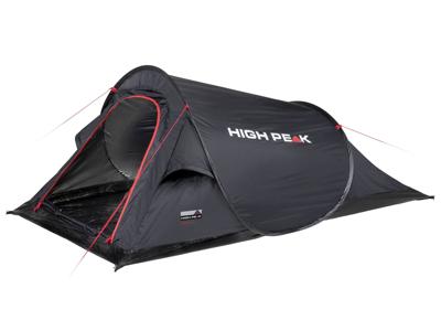 High Peak Campo - 2 personers telt - Sort