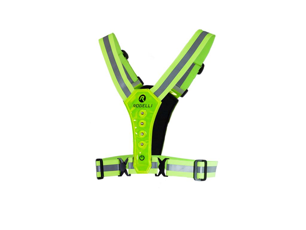 Image of   Rogelli - Sports LED vest - Gul - One size