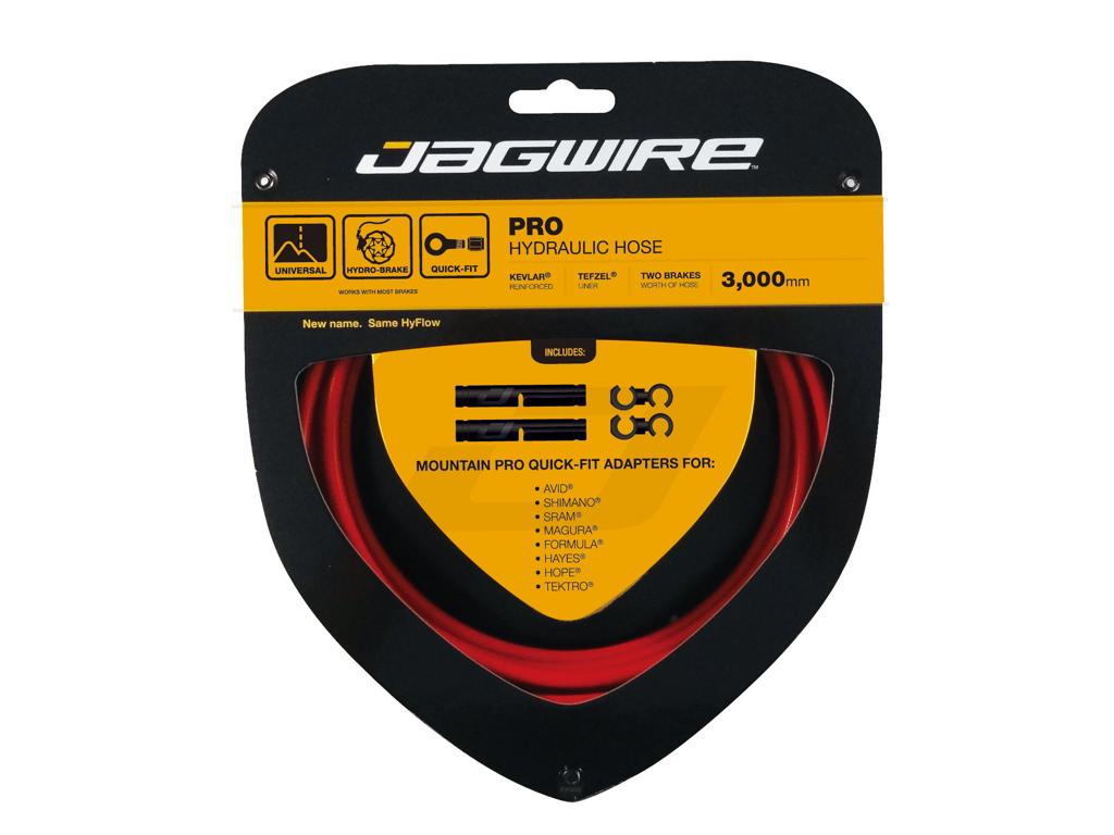 Image of   Jagwire - Pro Hydraulic Hose - Hydraulisk - Quickfit - Rød