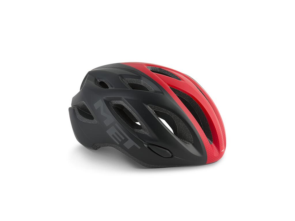 MET Idolo - Cykelhjälm - Svart / vit / röd