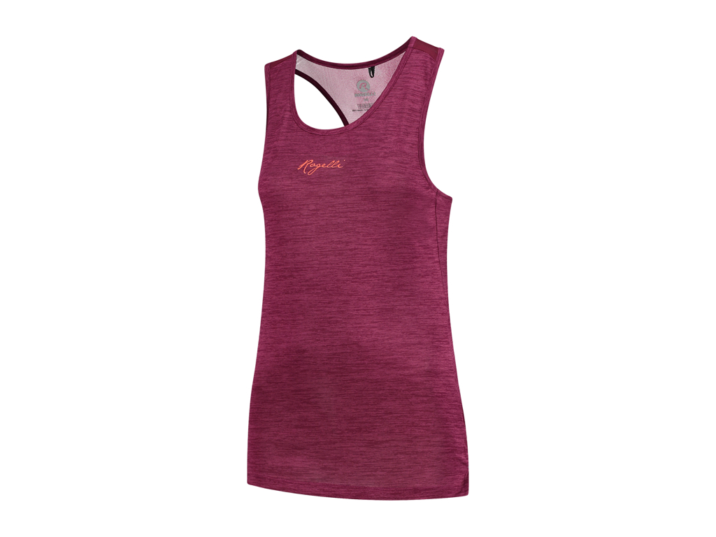 Image of   Rogelli Aura - Sports tank top - Dame - Cerise/Coral - Str. XS