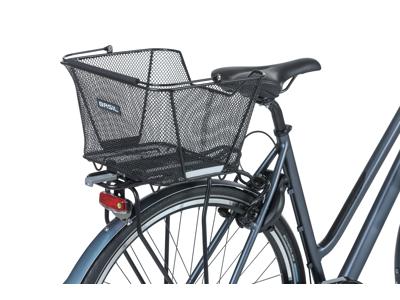 Basil Lesto - Cykelkurv til bag - Sort