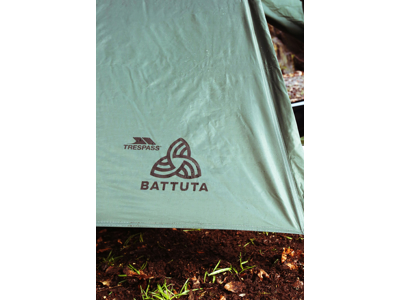 Trespass Battuta - Backpacking telt - 2 personer - Oliven