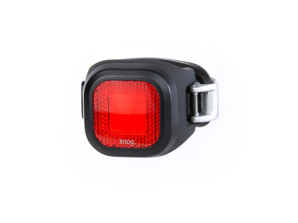 Image of   Knog Blinder Mini Chippy - Cykellygte til bag - Sort
