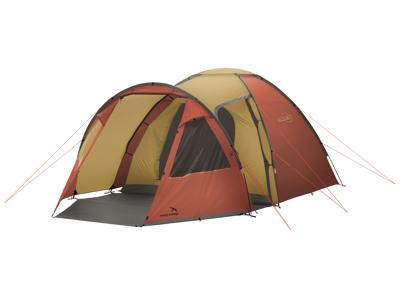 Easy Camp Eclipse 500 - Telt - 5 Personer - Guld/Rød