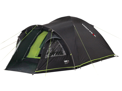High Peak Talos  3 - 3 personers telt - Mørkegrå/grøn
