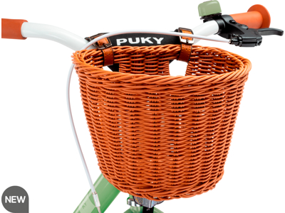 """Puky - Chaos basket L - Fletkurv til 16""""-20"""" cykler - Brun"""