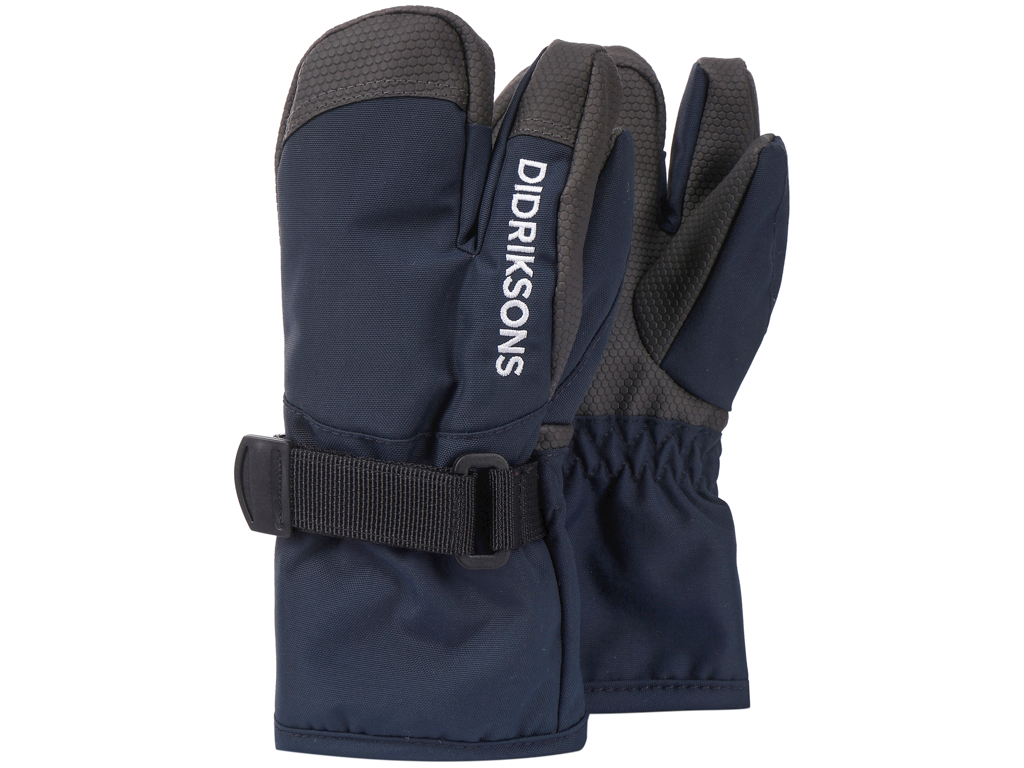 Didriksons - Fossa - Kids Three-Finger Gloves 2 - Navy