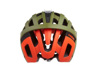 Lazer Revolution - Cykelhjelm Enduro - Mat khaki orange