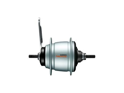 Shimano Nexus - Bagnav med 8 gear og fobremse - Type SG-C60018-CAS - Sølv