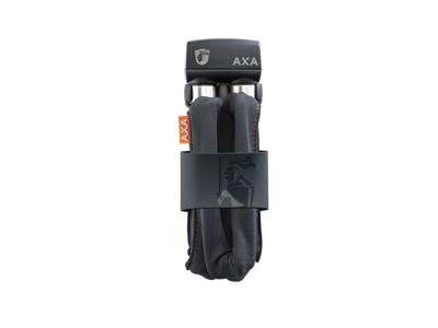 AXA Foldable 600 - Kædelås med nøgle + holder - 95 cm - Grå