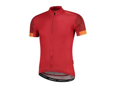 Rogelli Bolt - Cykeltrøje - Dynacool - Rød/Orange