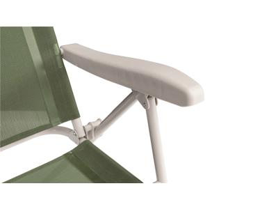 Outwell Cromer Green Vineyard - Campingstol - børstet stål - Grøn